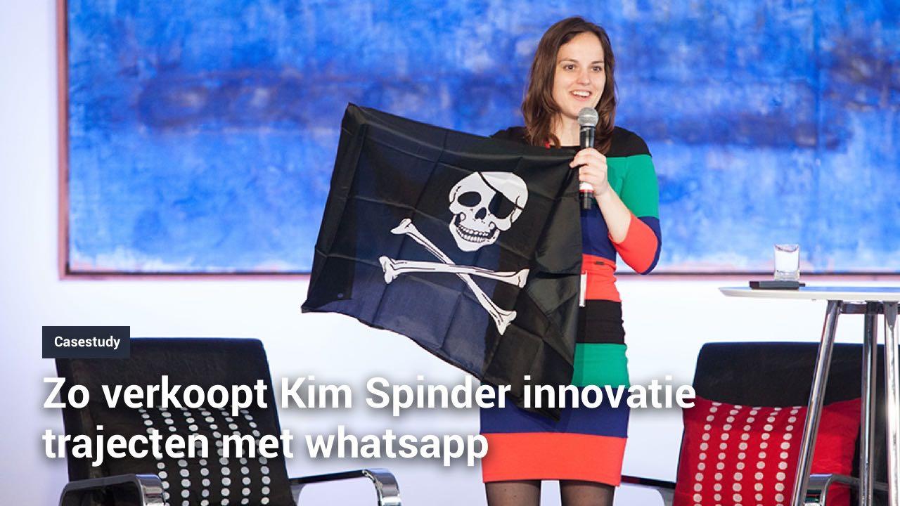business to business rocketeer kim spinder innovatie