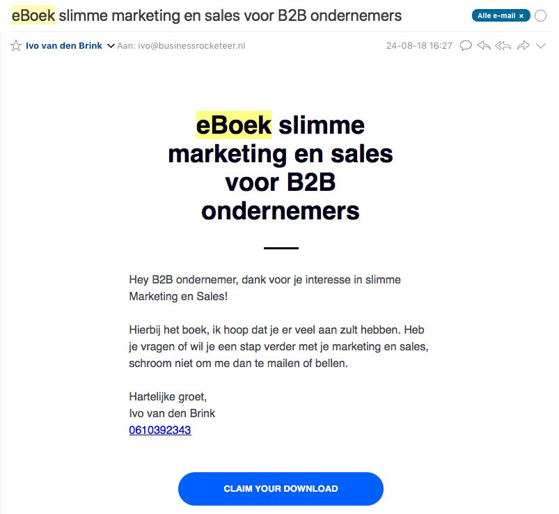 leadpages email
